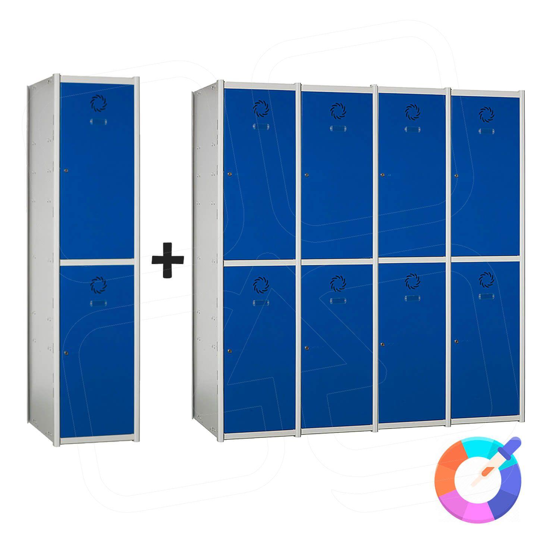 Taquilla modular Basic 2 puertas