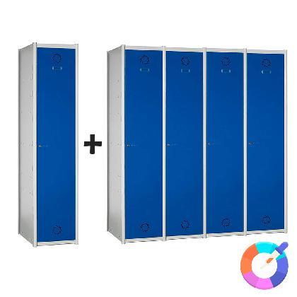 Thumbnail / miniatura de Taquilla modular Basic 1 puerta