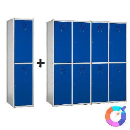 Thumbnail / miniatura de Taquilla modular Basic 2 puertas